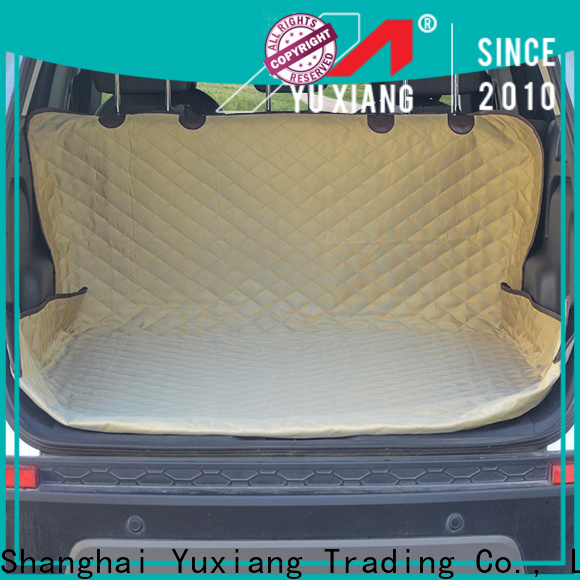 High-quality rubber trunk mat factory for car