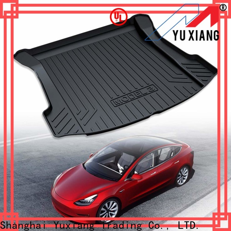Yuxiang custom trunk mat Suppliers for car