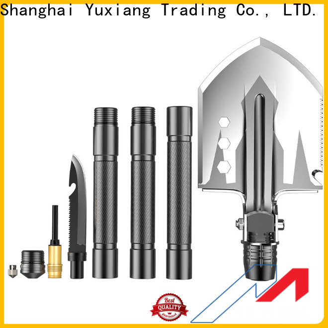 Yuxiang High-quality multifunctional folding shovel company for safety