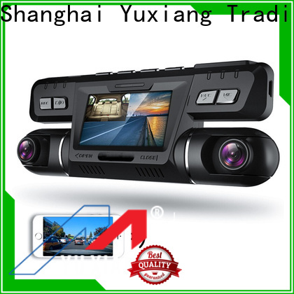 Yuxiang vehicle blackbox dvr dual cam factory for car