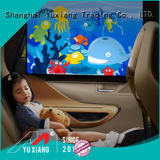 Top car window shades for side windows manufacturers for vehicle