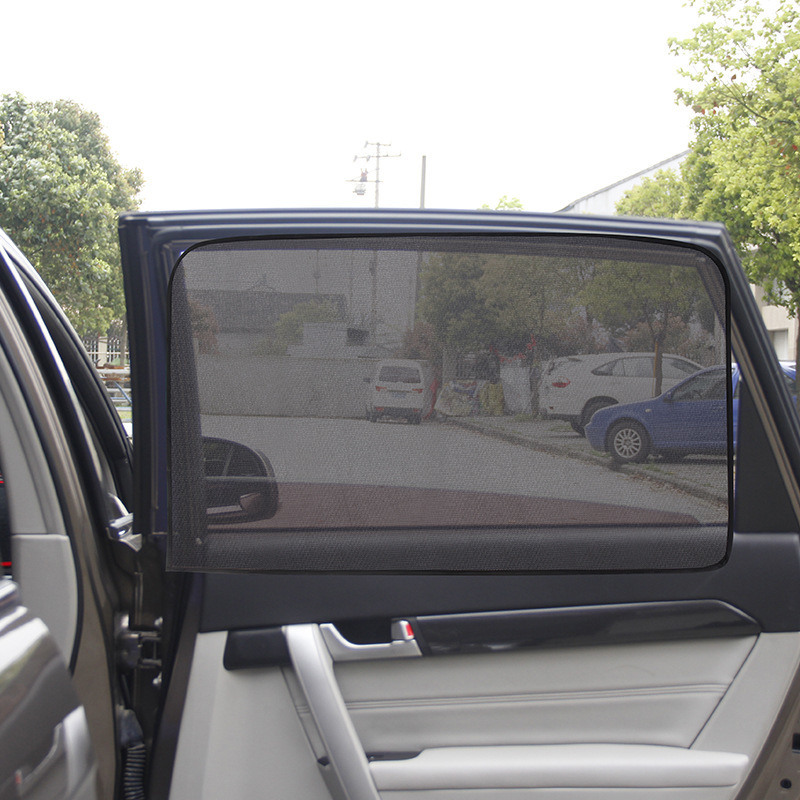 YX-ZYD-002 Summer Thickened Mesh Car Sun Shade Car Sun Shade Side Window Car Window Covers
