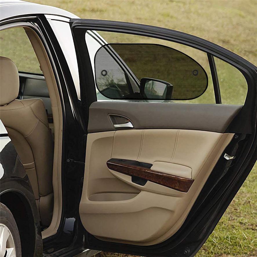 YX-ZYD-004 Car Window Shades Car Magnetic Curtain Sun Shade UV Protection Side Window Mesh Sun Visor