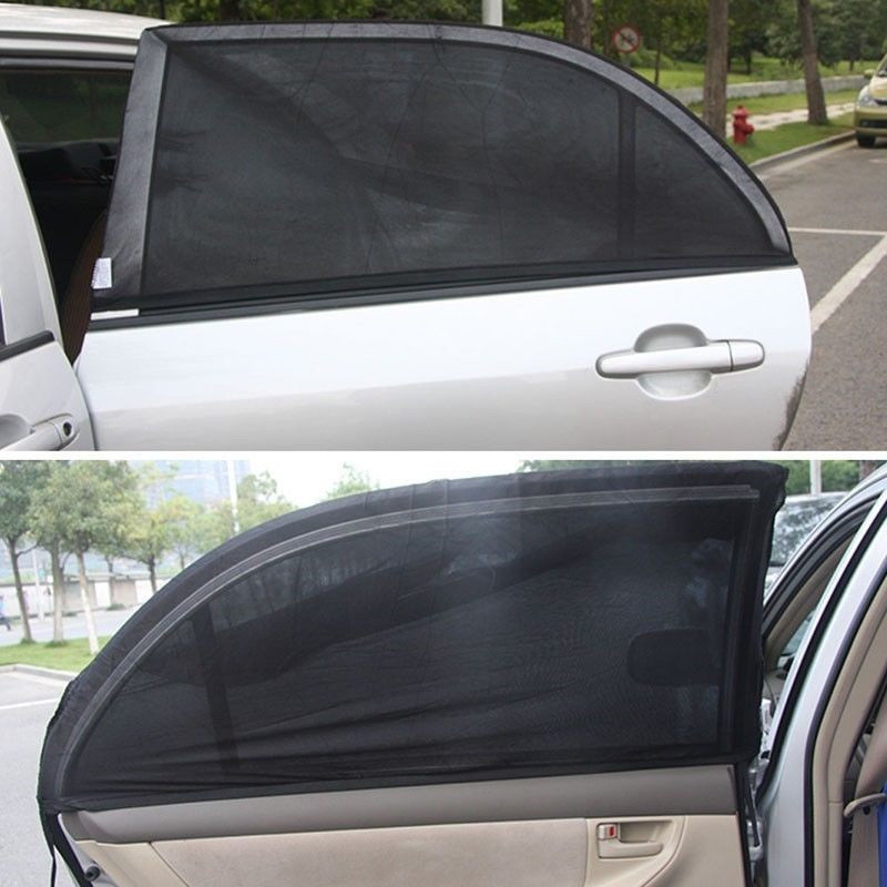 YX-ZYD-006 Mesh Car Windshield Sun Shade Car Magnetic Curtain Sun Shade Suv Window Shades