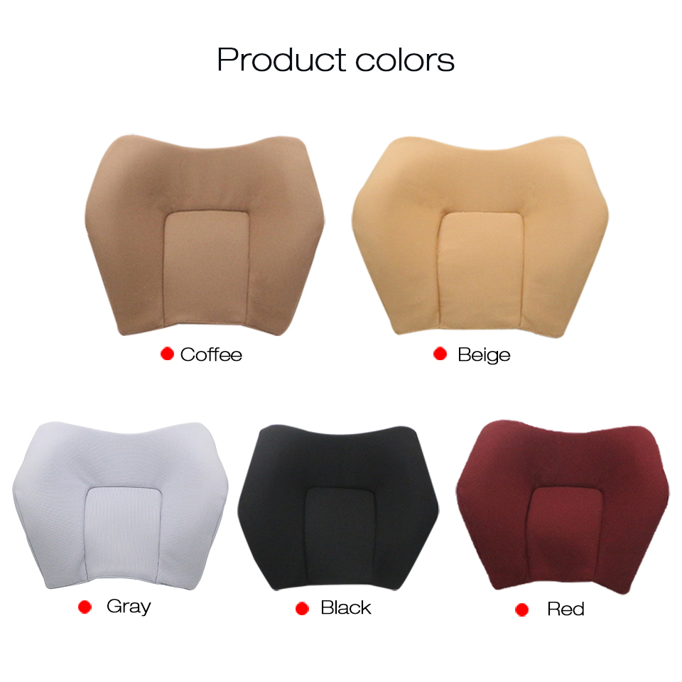 YX-TZ003 U Shape Memory Foam Car Seat Car Headrest Cushion To Ease Fatigue Auto Headrest Lumbar Support For Car Office Home Chair