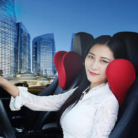 YX-TZ005 U Shape Car Seat Neck Pillow Memory Foam Car Neck Pillow to Ease Fatigue Auto Headrest Lumbar Support