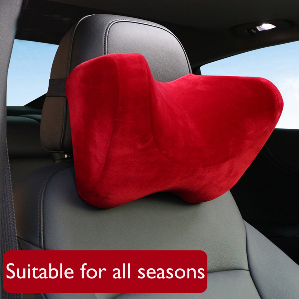 YX-TZ006 U Shape Memory Foam Car Travel Pillow Neck Pillow to Ease Fatigue Auto Headrest Lumbar Support For Car Office Home Chair