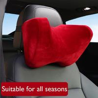YX-TZ006 U Shape Memory Foam Car Travel Pillow Neck Pillow to Ease Fatigue Auto Headrest Lumbar Support For Car Office Home Chair