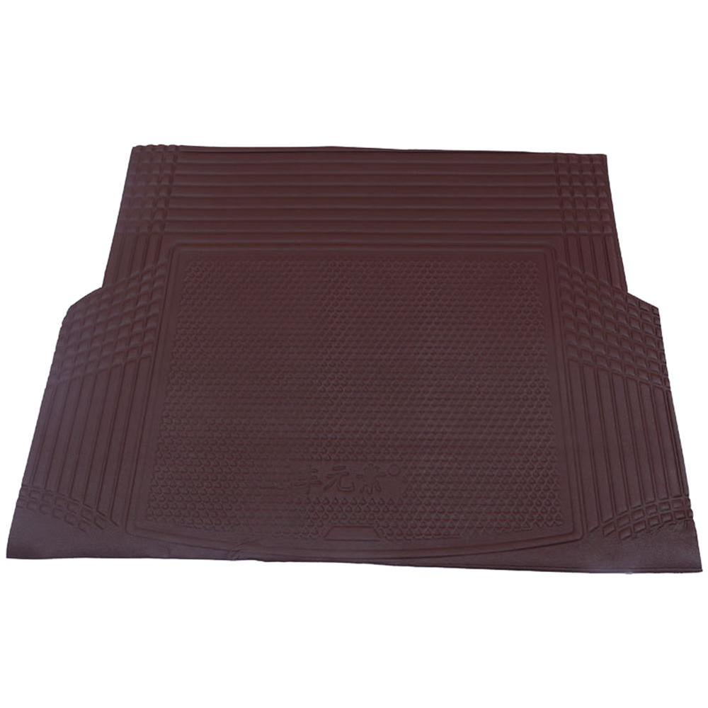 YX-WXD001 Trunk Mat Car Universal Trunk Mat Auto Leather Cargo Floor Mats Trimmable Foldable Cargo Trunk Protection