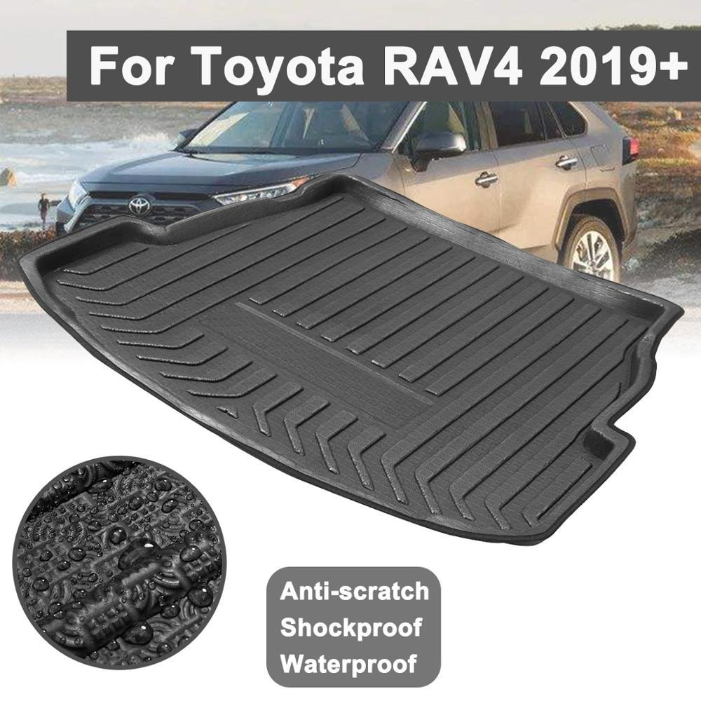 YX-WXD004 Trunk Mat Car Universal Trunk Mat Auto Leather Cushion Floor Mats Trimmable Foldable Cargo  Jeep Trunk Mat