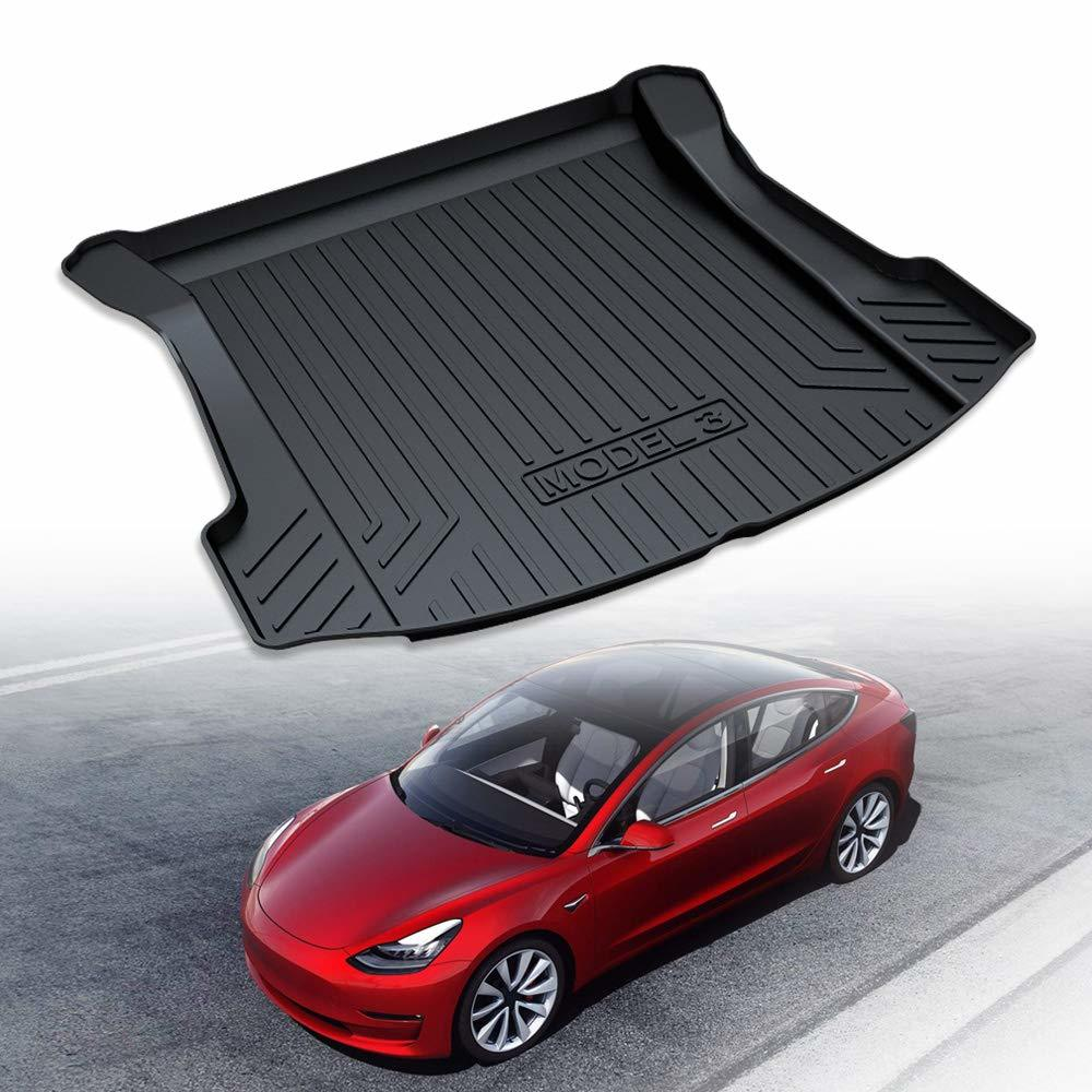 YX-WXD006 Trunk Mat Car Universal Trunk Mat Auto Leather Cushion   Non Slip Floor Mats