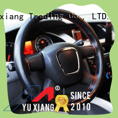 Yuxiang Wholesale faux leather steering wheel cover factory for truck