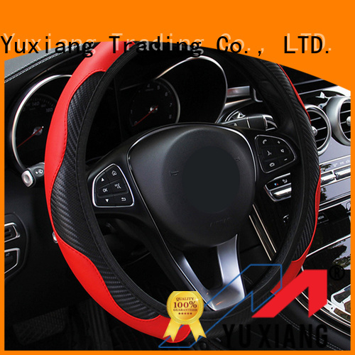 Yuxiang anti slip steering wheel cover factory for truck
