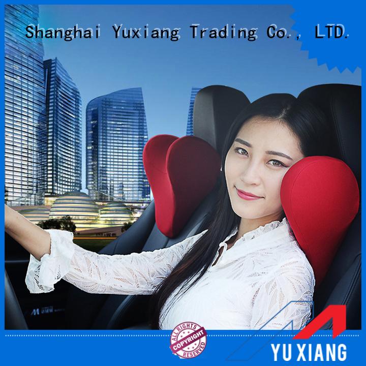Top car seat headrest pillow factory for car
