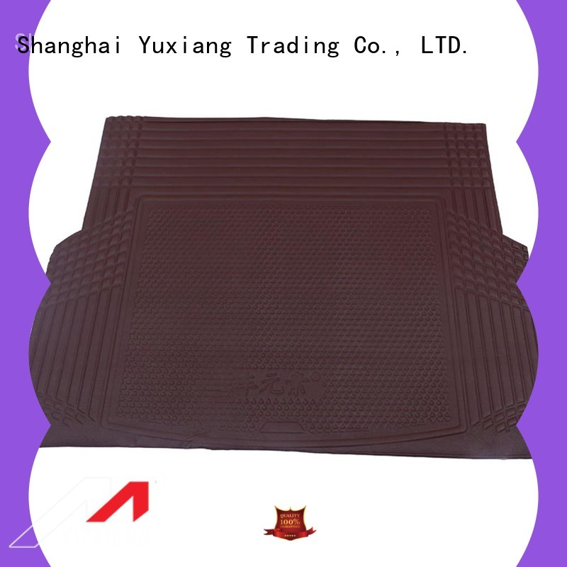 Latest rubber trunk mat for business for car