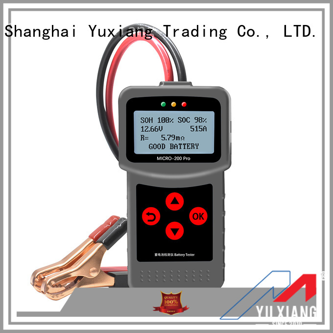 Latest car battery load tester factory for car