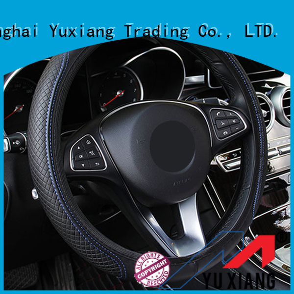 Yuxiang Best leather steering wheel cover for business for truck