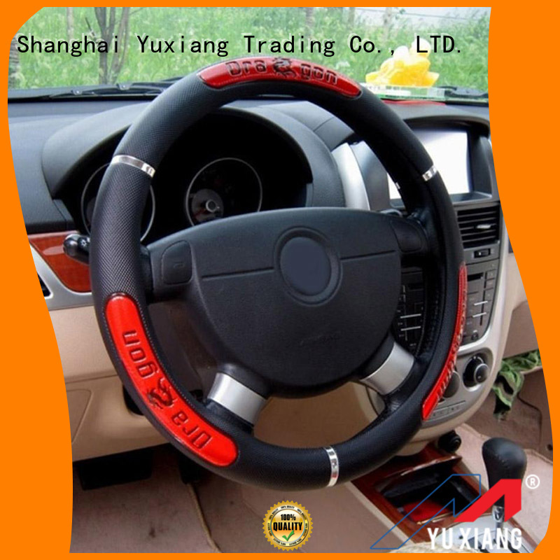 Yuxiang High-quality anti slip steering wheel cover Suppliers for vehicle