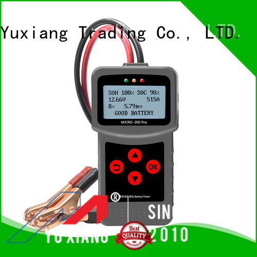 Latest auto battery tester Supply for car