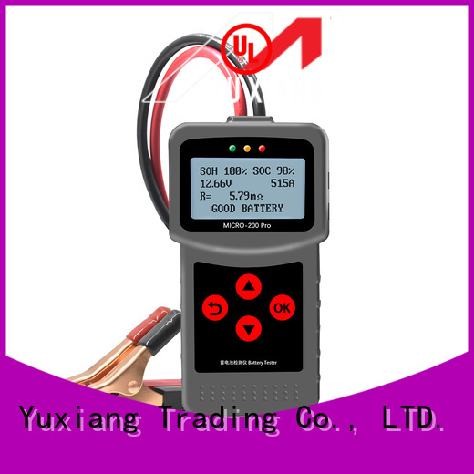 Yuxiang Latest 12 volt deep cycle battery tester manufacturers for car