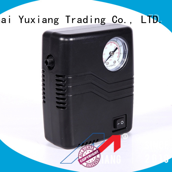 Yuxiang portable air pump for car tires factory