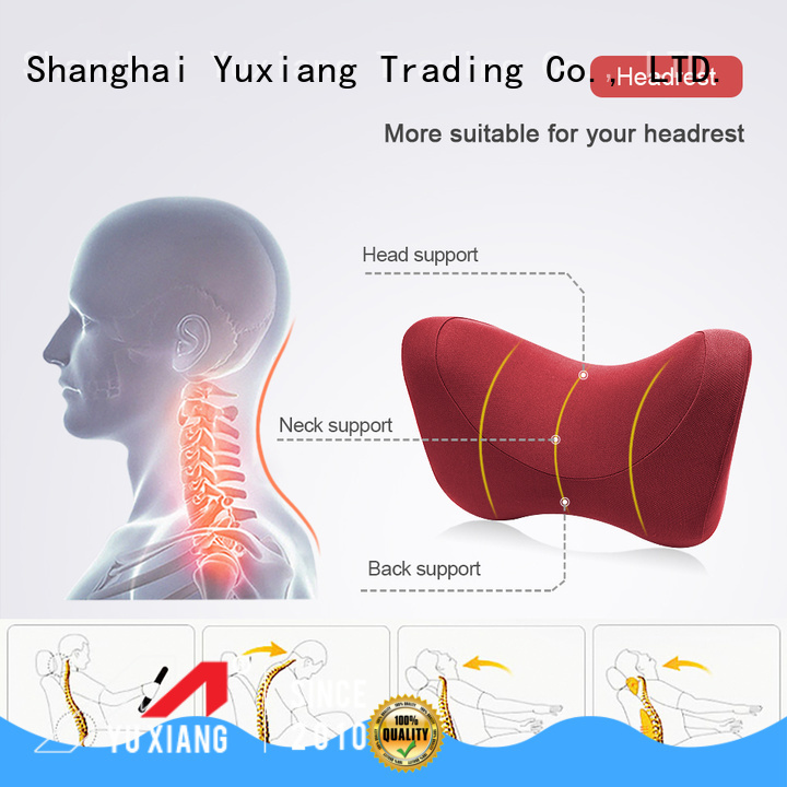 Yuxiang car seat pillow cushion manufacturers for car