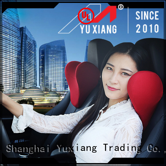 Yuxiang neck support car pillow Supply for car