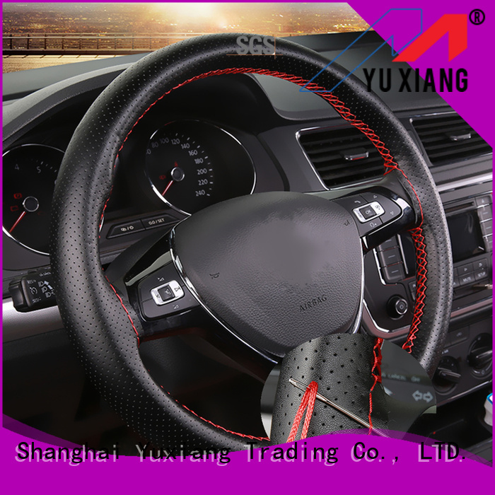 Yuxiang Latest car steering wheel cover manufacturers for truck