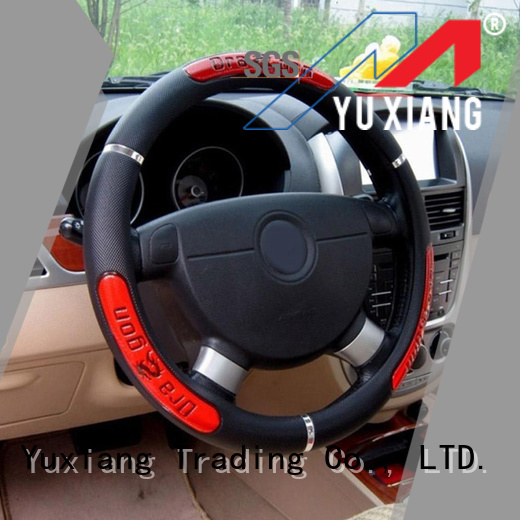 Yuxiang New custom made steering wheel covers for business for truck