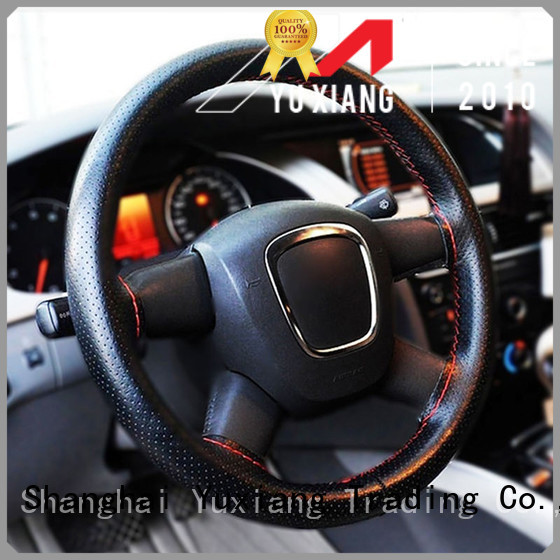Yuxiang high quality steering wheel cover for business for vehicle