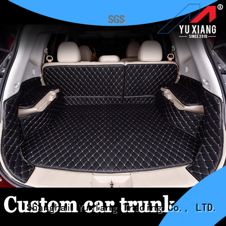 Yuxiang Latest suv trunk mat company for car