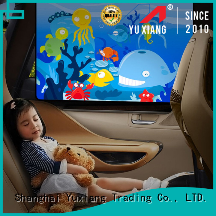 Yuxiang car front side window shades Suppliers for truck