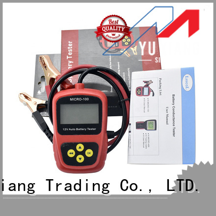 Latest automotive battery load tester factory for car