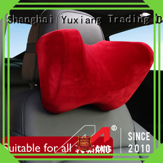 Yuxiang car headrest neck support Supply for car