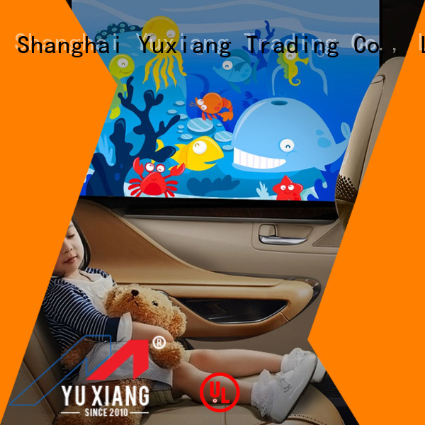 Yuxiang New car window shades for side windows manufacturers for truck