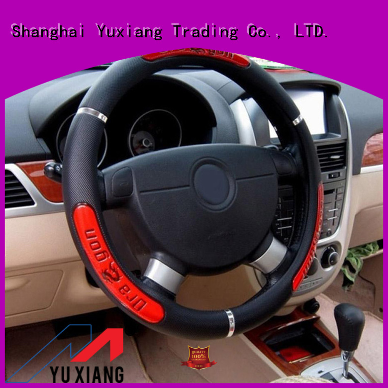 Latest elastic steering wheel covers factory for truck