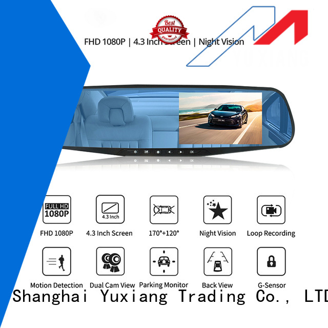 Yuxiang High-quality dual dash cam Supply for car