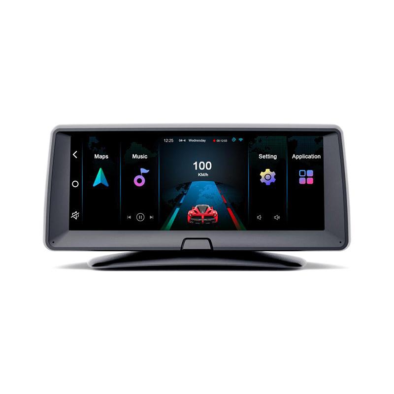 Car Camera Recorder 6.86'' Hd Dual Dash Cam With Asas