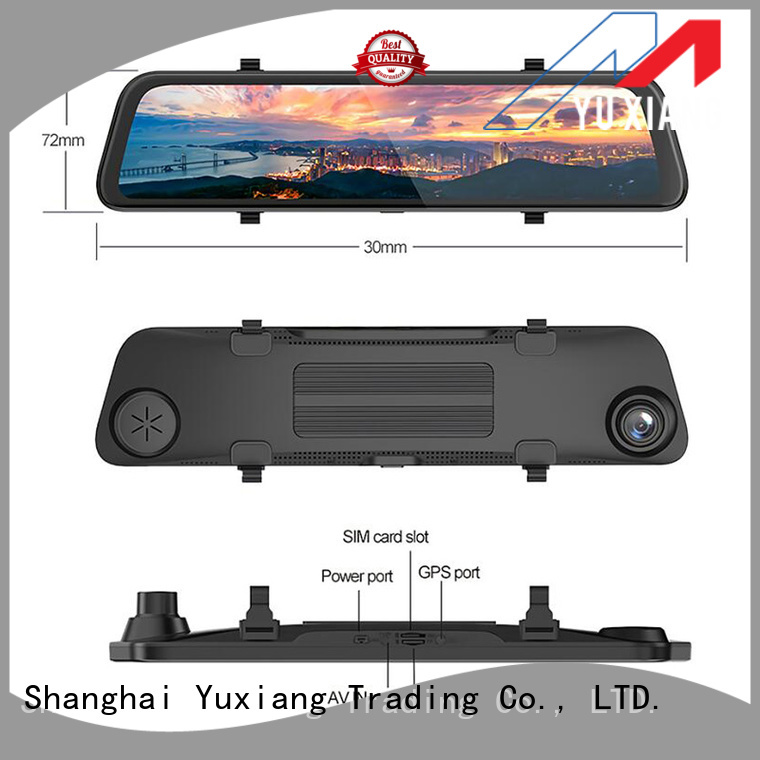 Yuxiang Best rear view mirror dash cam for business for car