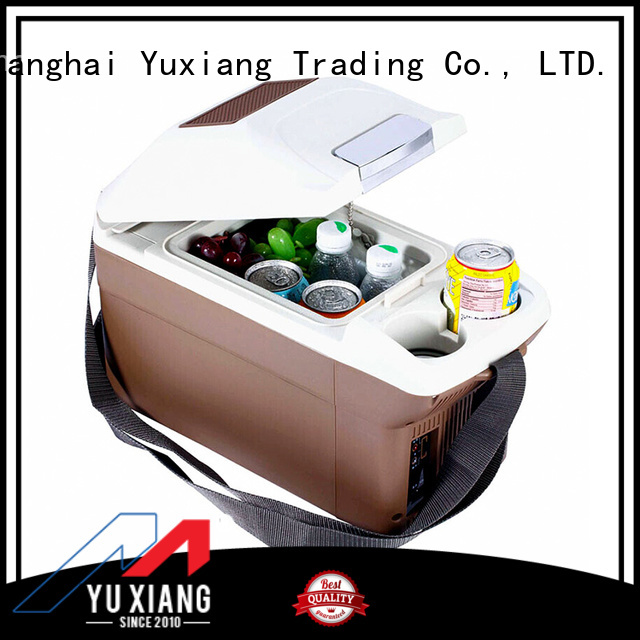 Yuxiang Custom portable car refrigerator cooler factory for car