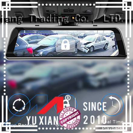 Yuxiang rear view mirror dash cam factory for car