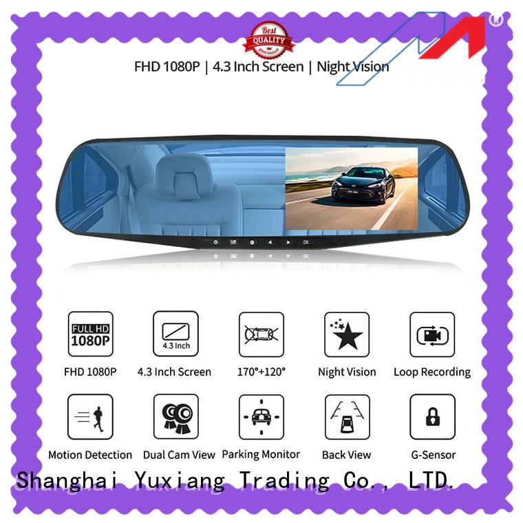 Yuxiang dual dash cam manufacturers for car