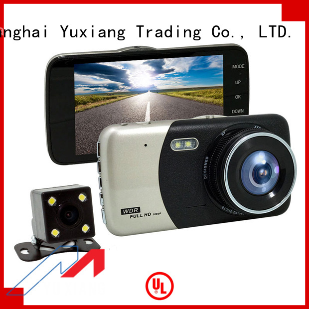 Yuxiang dual lens vehicle blackbox dvr factory for car